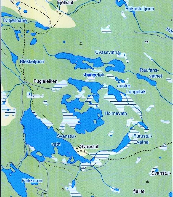 kart over luksefjell Godal og Godalsbrakka Luksefjell Soner kart over luksefjell