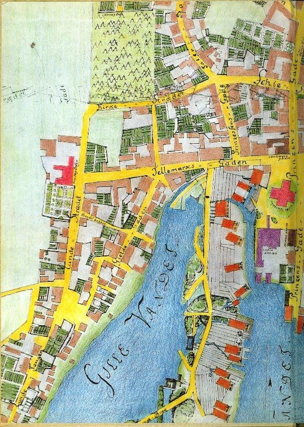 kart over århus sentrum Falkumbrua Sentrum Soner kart over århus sentrum